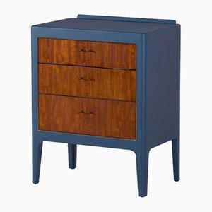 Commode Vintage Bleue, 1950s