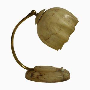 Lámpara de mesa Art Déco de baquelita, años 30