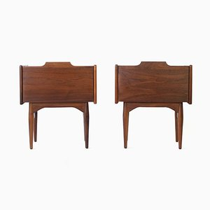 Mid-Century Nightstands by John Caldwell for Brown Saltman, 1960s, Set of 2