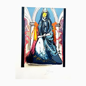 Lithographie The High Priestess par Salvador Dali, 1979