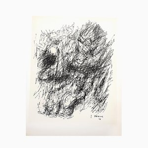 Lithographie par Jean Bazaine, 1956