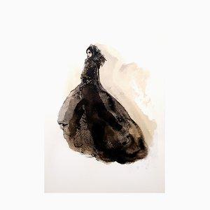 Lithographie Dressed-Up Vintage par Leonor Fini