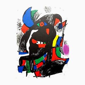 Abstrakte Lithografie von Joan Miró, 1981