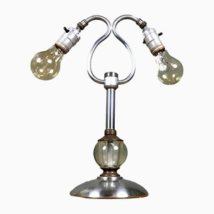 Lámpara de escritorio Art Déco, años 50
