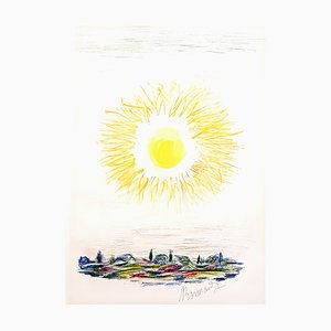 Litografía The Sun de Pierre Bonnard, 1947