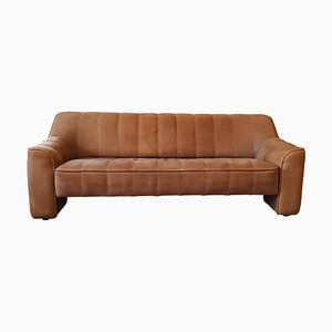 Mid-Century Swiss Leather DS44 Sofa from de Sede, 1970s