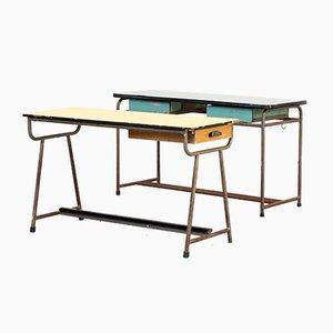 Schreibtische für Kinder, 1960er, 2er Set