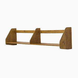 Mid-Century Oak Wall Shelf by Hans J. Wegner for Ry Møbler