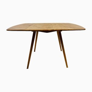Vintage Elm Extendable Dining Table by Lucian Ercolani for Ercol, 1960s