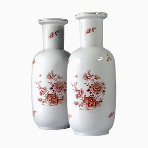 Portugese Vases from Vista Alegre, 1980s, Set of 2