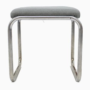 Bauhaus Chrome Stool from Slezak, 1930s