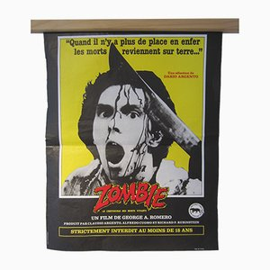 Póster de la película Dawn Of The Dead vintage, 1978