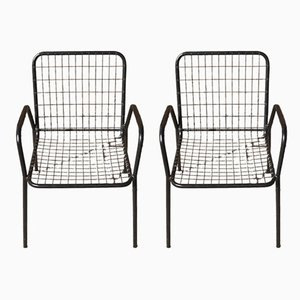 Stackable RIO Garden Chairs from EMU, 1970s, Set of 2