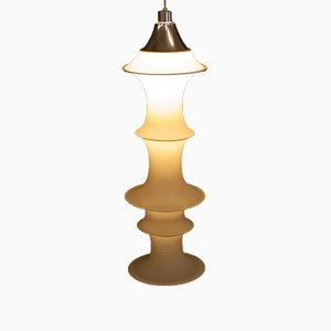 Lámpara colgante Falkland italiana vintage de Bruno Munari para Danese, años 60