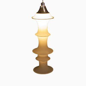 Lampe à Suspension Falkland Vintage par Bruno Munari pour Danese, Italie, 1960s