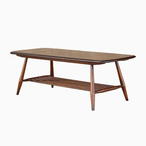 Mid-Century Beech & Elm Coffee Table by Lucian Ercolani for Ercol, 1960s
