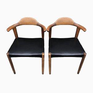 Nr. 69 Esszimmerstühle aus Palisander von Hermann Jacob für Randers Møbelfabrik, 1950er, 2er Set