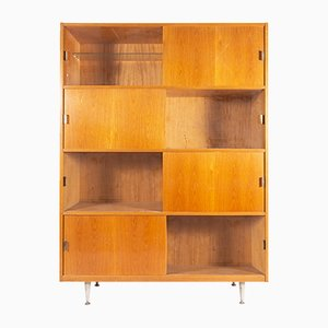 Vintage Wooden Shelving Unit, 1960s