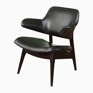Mid-Century Armchair by Louis van Teeffelen for WeBe