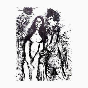 Lithographie Originale par Marc Chagall, 1963