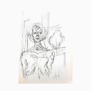 Lithograph by Alberto Giacometti, 1964