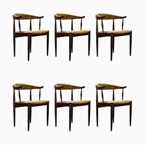 Vintage Esszimmerstühle aus Palisander von Johannes Andersen, 1960er, 6er Set