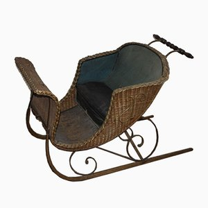 Antique Sleigh Crib