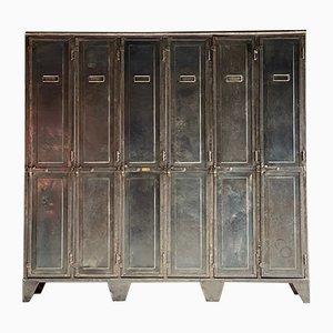 Antiker Schulspind aus Stahl von Laugel & Renouard