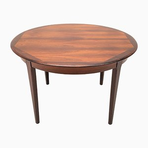 Vintage Danish Rosewood Extendable Dining Table, 1960s