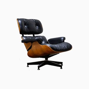 Vintage Lounge Chair by Charles & Ray Eames for Herman Miller, 1980s