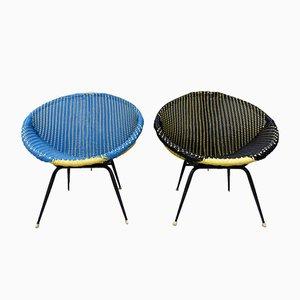 Chaises de Jardin, 1960s, Set de 2