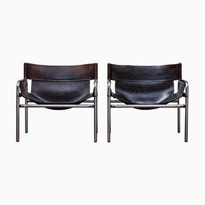 Vintage Sessel von Walter Antonis für 't Spectrum, 1970er, 2er Set