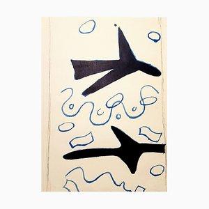 Lithographie par Georges Braque, 1963