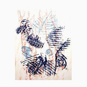 Birds Lithografie von Max Ernst, 1964