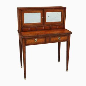 Antique Inlaid Napoleon III Desk