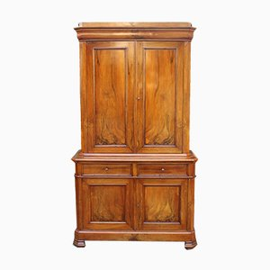Antique Louis Philippe Walnut Sideboard