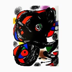 Lithografie von Joan Miro, 1976