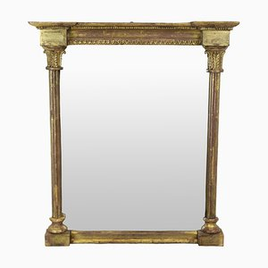 Antique Regency English Gilded Wall Mirror, 1810s