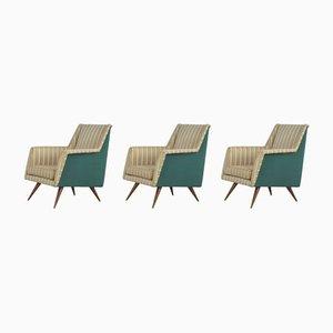 Vintage Sessel, 1950er, 3er Set