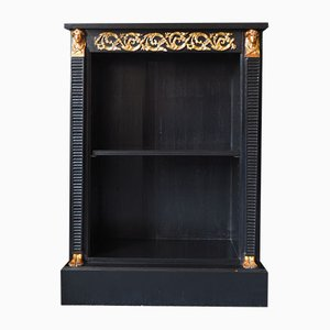 Antique Regency Ebonized Bookcase