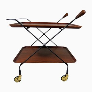 Serving Trolley by Paul Nagel for JIE Gantofta, 1960s
