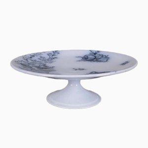 Frutero francés modernista antiguo de porcelana de BWM & Cie