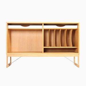 Low Vintage Blonde Oak Bookcase by Børge Mogensen for Karl Andersson & Söner, 1960s