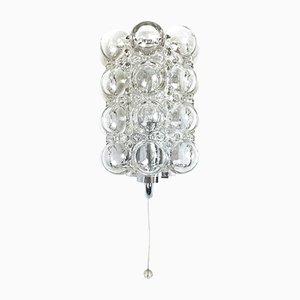 Mid-Century Wandlampe aus Sideglas von Helena Tynell für Limburg
