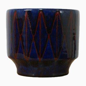 Vaso in ceramica di Wilhelm & Elly Kuch, anni '60