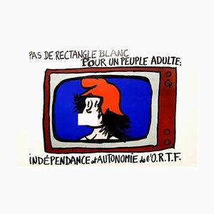 Affiche Mai 68, France, 1968