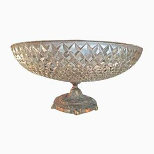 Bronze & Glass Bowl, 1930s