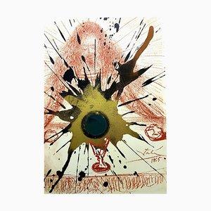 Litografía Biblia Sacra de Salvador Dali, 1969