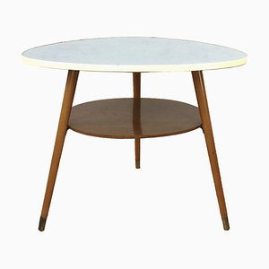 Tavolino vintage a fagiolo, anni '60