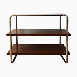 Model B22 Oak Veneer Console Table by Marcel Breuer by Thonet, 1930s